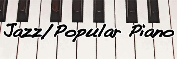 ジャズ&ポピュラーピアノコース