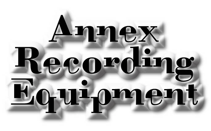 Music Plant Annex Recording Equipment t.c. electronic,TC1140はAnnex Recording Equipmentとして採用されています!!