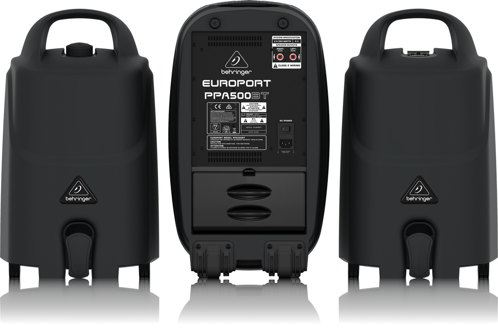 PPA500BT EUROPORT背面画像