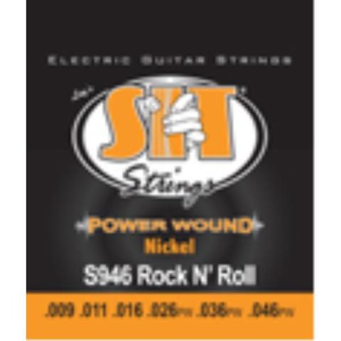 SIT-エレキギター弦POWER WOUND S946 ROCK-N-ROLL