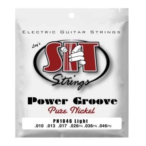 SIT-エレキギター弦Power Groove PN1046 LIGHT