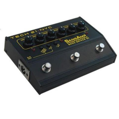 TECH21-SANS AMPPROGRAMMABLE BASS DRIVER DI