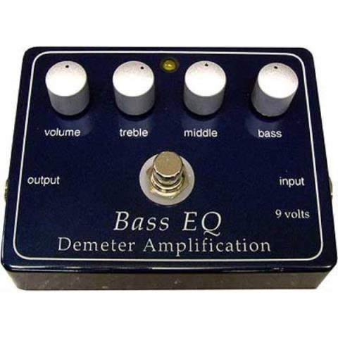 Demeter Amplification-コンパクト・エフェクター・ペダルBEQ-PB Bass EQ Preamp Pedal
