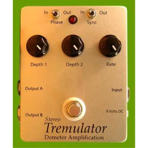 Demeter Amplification-コンパクト・エフェクター・ペダルSTRM-1 Stereo Tremulator