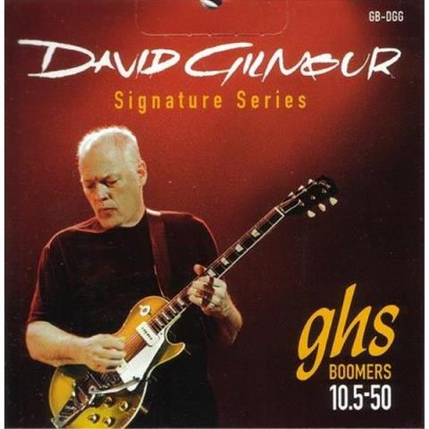 GHS-エレキギターBOOMERS 10.5-50 David Gilmour Red Set GB-DGG