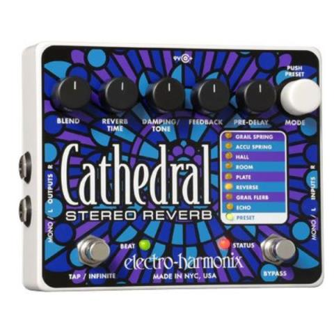 electro-harmonix-Stereo ReverbCathedral