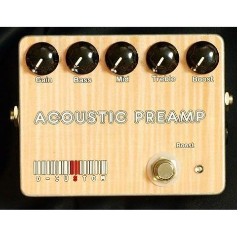 D-CustomACOUSTIC PREAMP