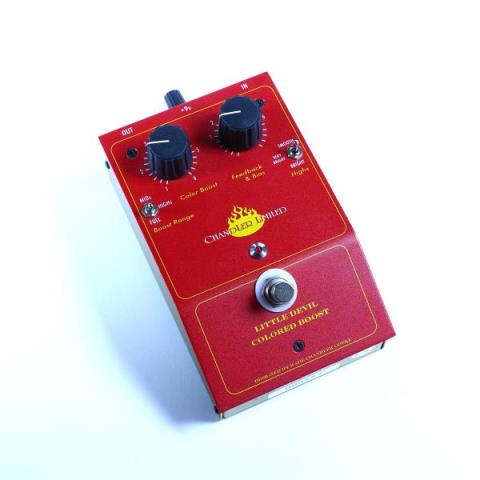 Chandler Limited-Class A design Overdrive/Boost PedalLittle Devil Colored Boost