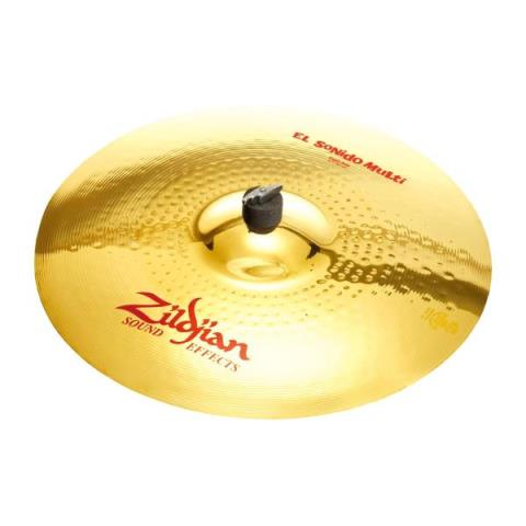 Zildjian-エフェクトシンバルFX El Sonido Multi Crash Ride 17