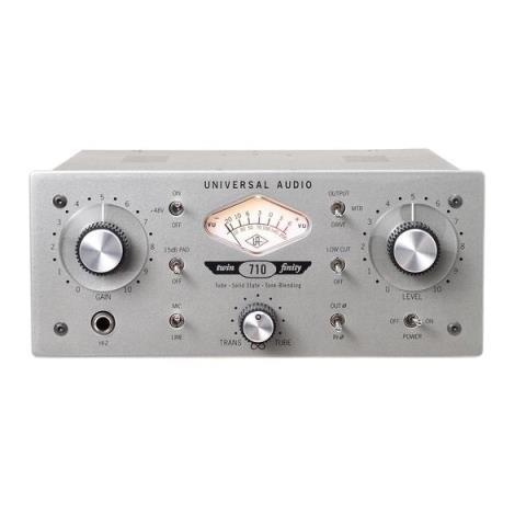 Universal Audio710 Twin-Finity Single Channel Tube & Solid State Mic Pre/DI