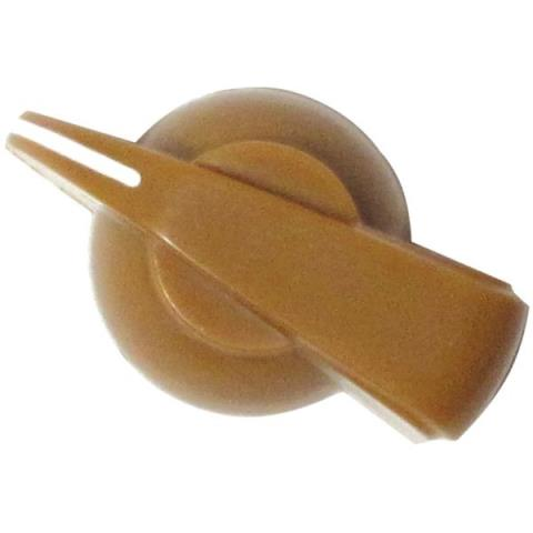 -Screw Chicken Head Knob Tan