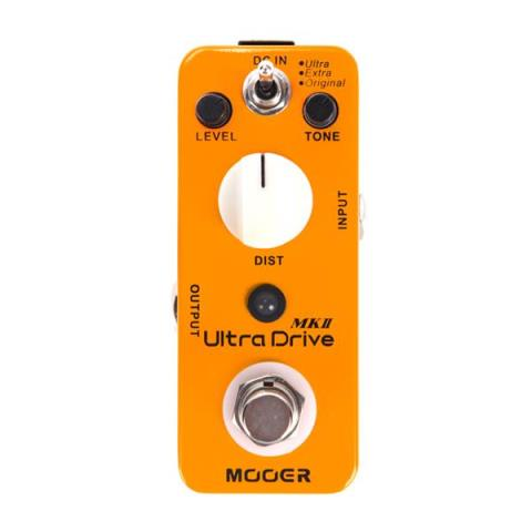MOOER-ディストーションUltra Drive MkII