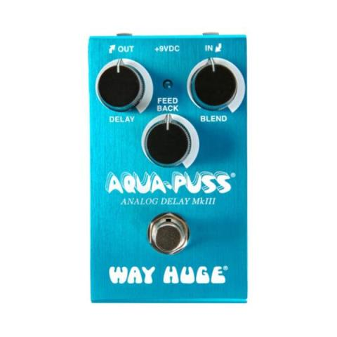 Way Huge Electronics-アナログ・ディレイWM71:WAY HUGE® SMALLS™ AQUA-PUSS™ ANALOG DELAY