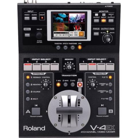 Roland-4-CHANNNEL VIDEO MIXERV-4EX