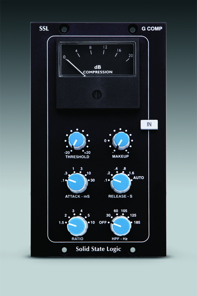Solid State Logic (SSL),Stereo Bus Compressor module for 500 format 画像