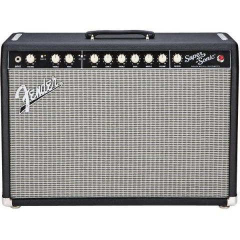 Fender-ギターアンプコンボSuper-Sonic™ 22 Combo Black and Silver