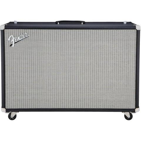 Fender-ギターアンプキャビネットSuper-Sonic™ 60 212 Enclosure Black and Silver