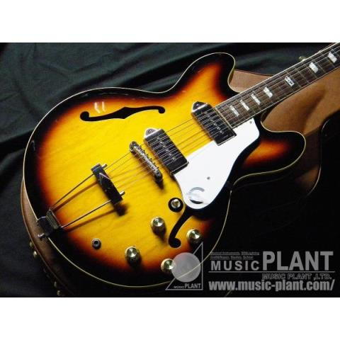 Epiphone-フルアコ70th Anniversary Commemorative John Lennon Casino Package Vintage Sunburst