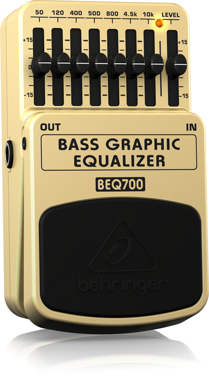 BEQ700 BASS GRAPHIC EQUALIZER追加画像