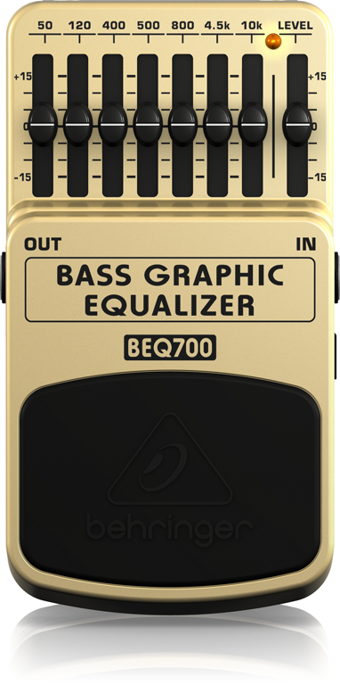 BEQ700 BASS GRAPHIC EQUALIZERパネル画像