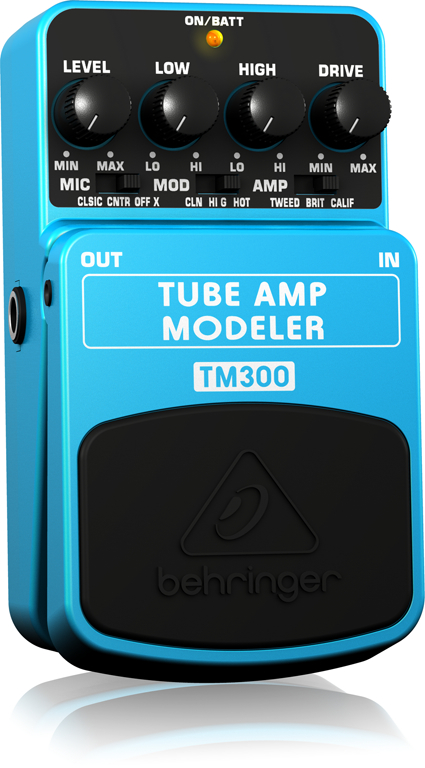 TM300 TUBE AMP MODELER追加画像
