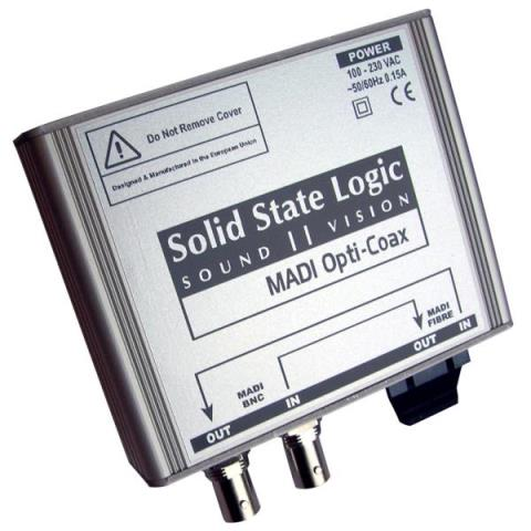 Solid State Logic (SSL)-MADIコンバータMADI Opti-Coax