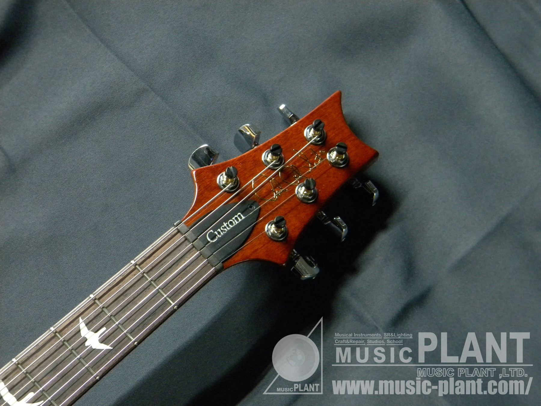 S2 CUSTOM22 Semi-Hollow  Violin Amber Sunburstヘッド画像