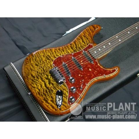 2014 Limited Model Quilt Maple Top Artisan Stratocaster Tigereye/Rosewoodサムネイル