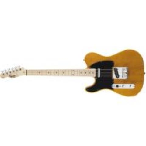 Squier-テレキャスターAffinity Series Telecaster Left-Hand Butterscotch Blonde