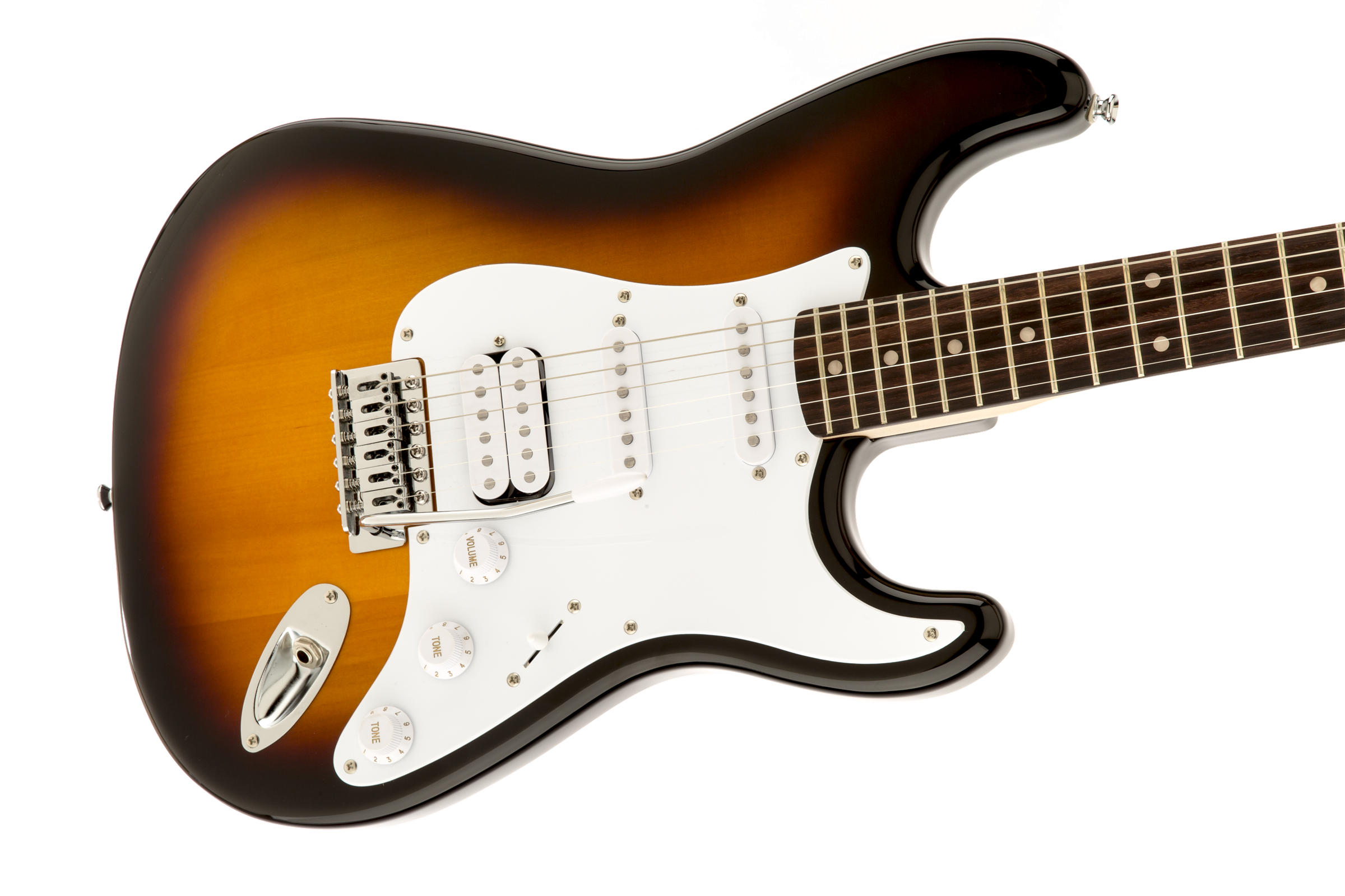 Bullet® Strat® with Tremolo HSS Brown Sunburst追加画像
