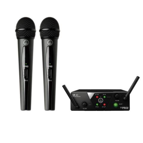 AKGWMS40 PRO MINI2 VOCAL SET DUAL