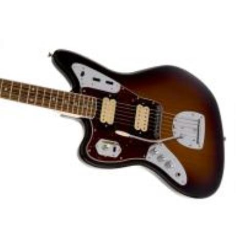 Kurt Cobain Jaguar Left-Handed, Rosewood Fingerboard, 3-Color Sunburstサムネイル