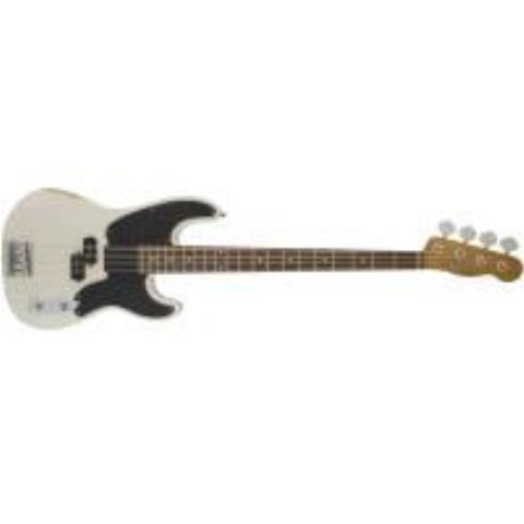 Fender-プレシジョンベースMike Dirnt Road Worn®  Precision Bass, Rosewood Fingerboard, White Blonde