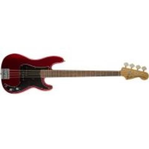 Fender-プレシジョンベースNate Mendel P Bass, Rosewood Fingerboard, Candy Apple Red