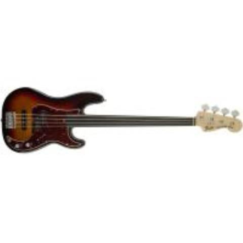 Fender-プレシジョンベースTony Franklin Fretless Precision Bass, Ebony Fingerboard, 3-Color Sunburst