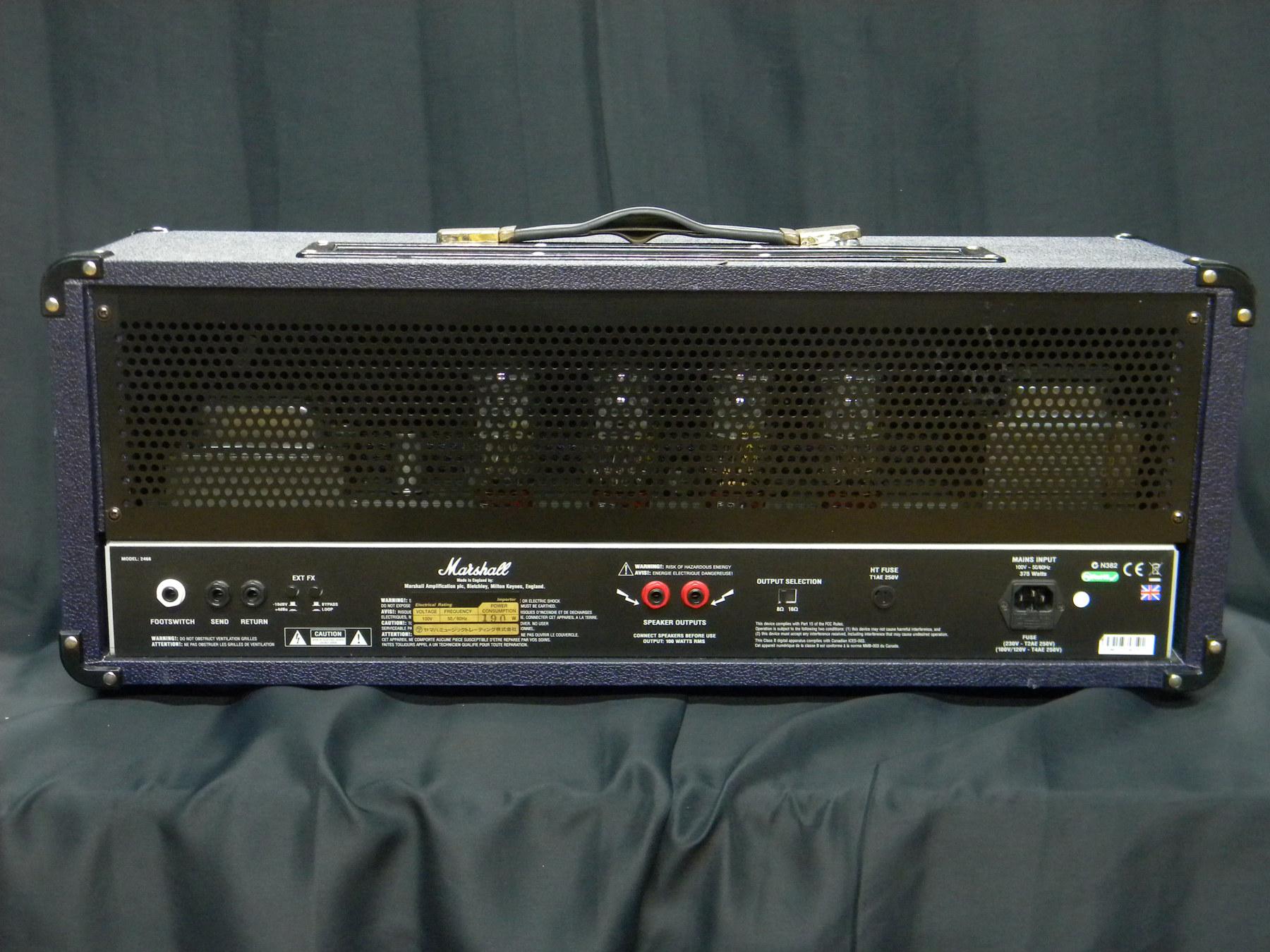 marshall vintage modern model 2466 music plant webshop. Black Bedroom Furniture Sets. Home Design Ideas
