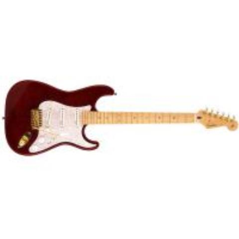 Fender-ストラトキャスターRitchie Kotzen Stratocaster Maple Fingerboard, Transparent Red Burst