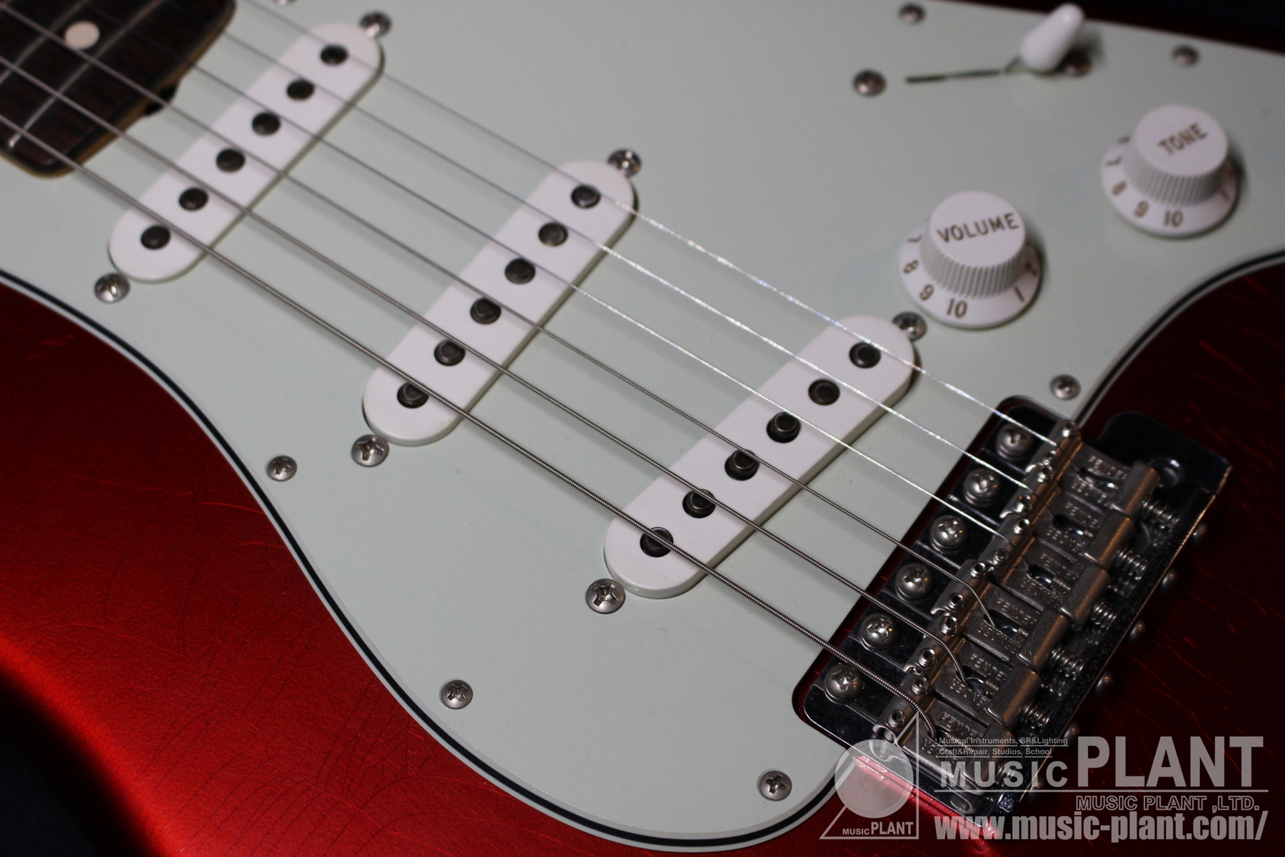 Time Machine Series Anniversary 1964 Stratocaster Closet Classic Candy Apple Red追加画像