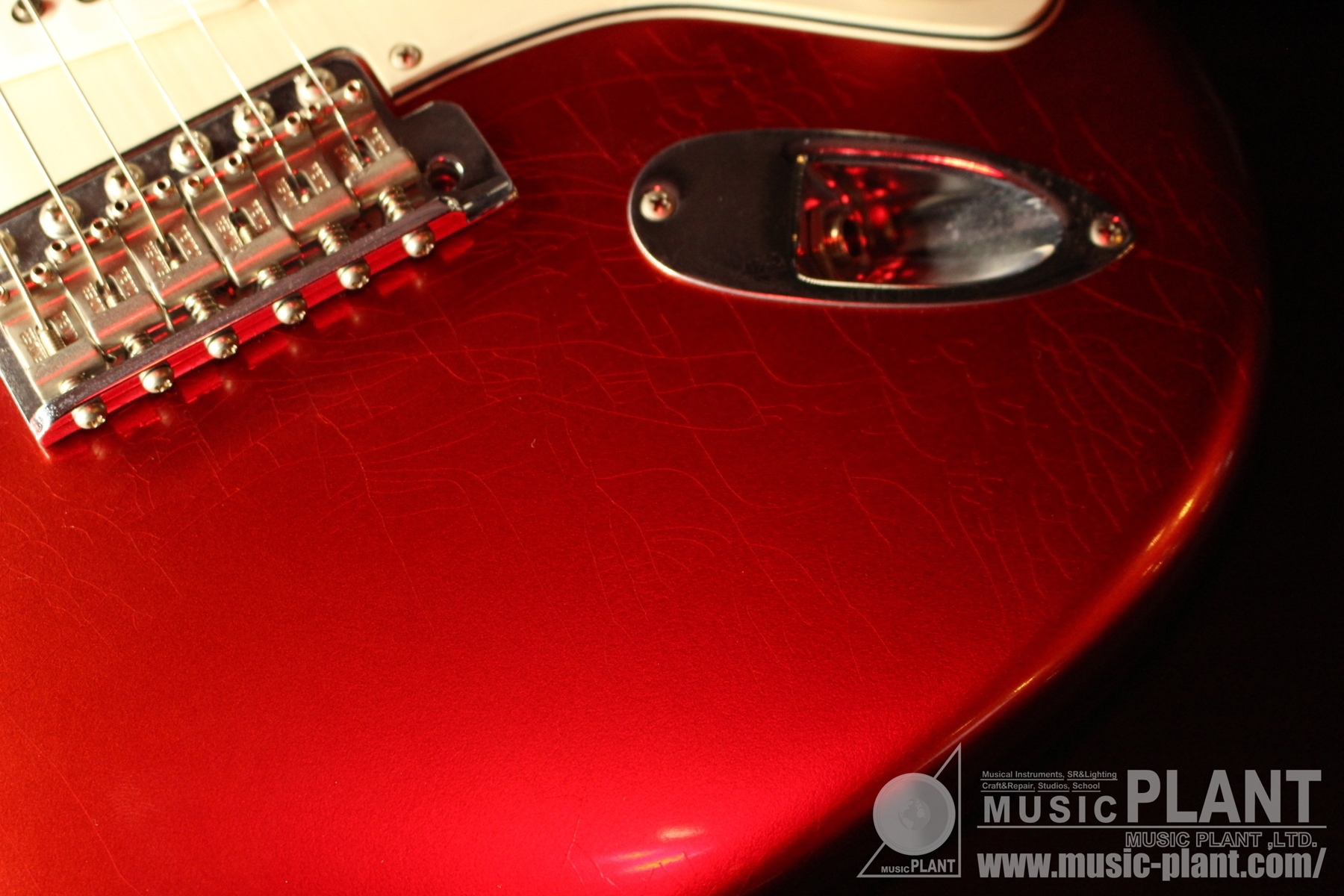 Time Machine Series Anniversary 1964 Stratocaster Closet Classic Candy Apple Redケース画像