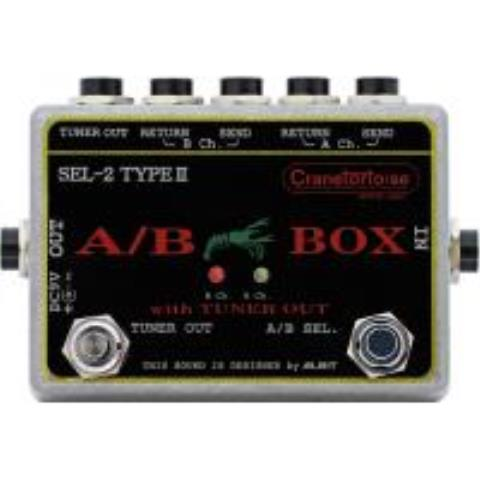 Cranetortoise-A/B BOX with TUNER OUTSEL-2 TYPE II