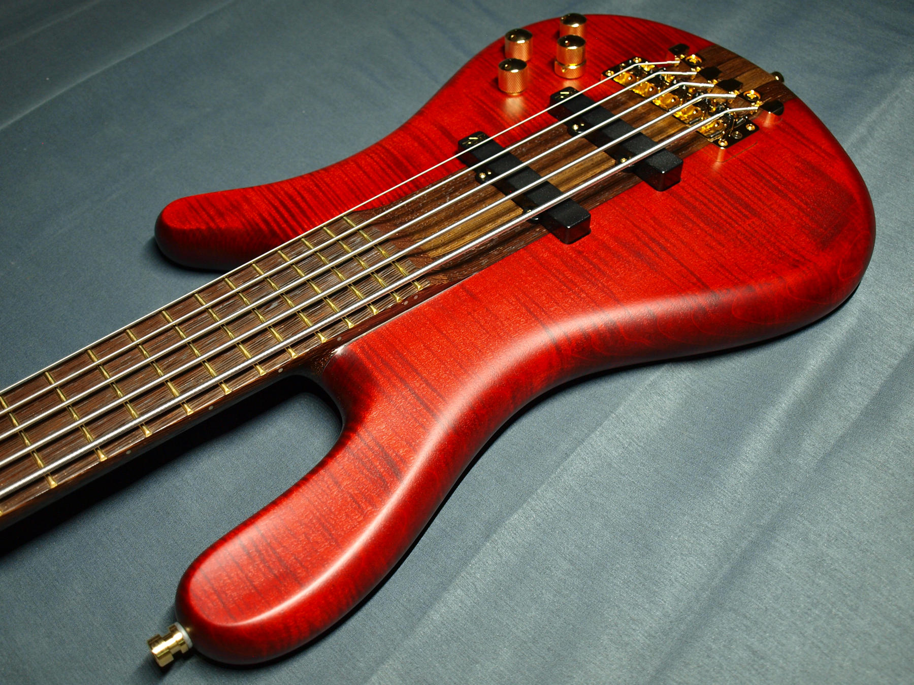 STREAMER STAGE1 Classic Line 5-string  Burgundy Red Oil追加画像