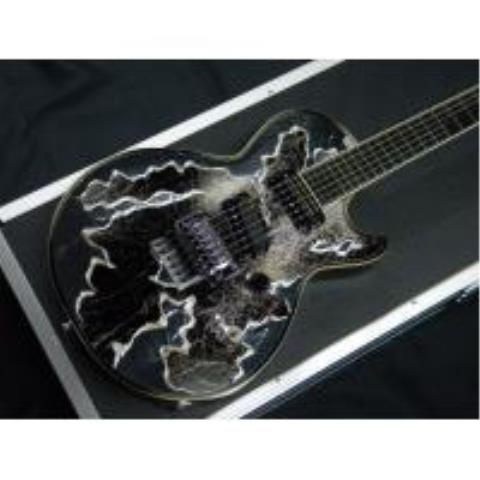 ESP-エレキギターECLIPSE S-III BRILLIANT -MIXEDMEDIA- LUNA SEA SUGIZO SIGNATURE