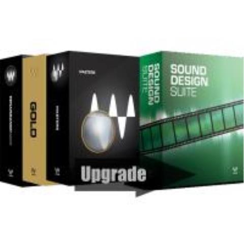 Waves-プラグイン アップグレードSound Design Suite Native Upgrade from Gold + Renaissance Maxx +Masters