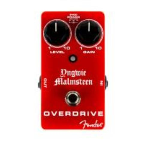 FenderYngwie Malmsteen Overdrive Pedal, Red