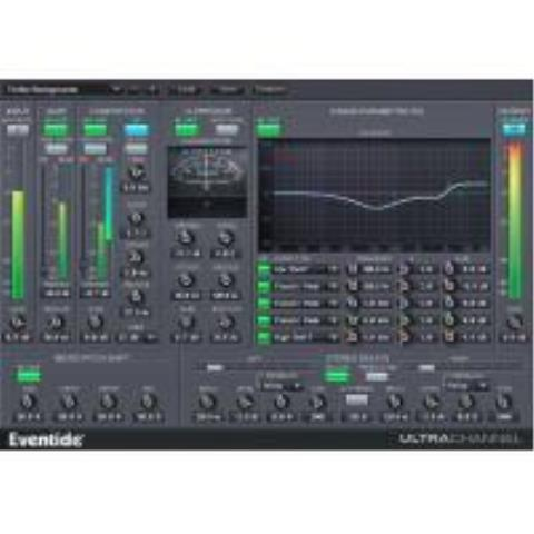 EVENTIDE-64-BIT CHANNEL STRIP WITH MICRO PITCH AND STEREO DELAYUltraChannel