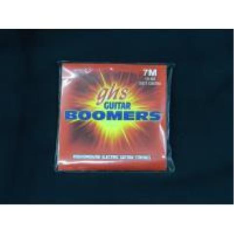 GHS-エレキギター弦BOOMERS 10-60 GB7M
