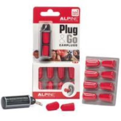ALPINE HEARING PROTECTION-イヤープラグPlug&Go