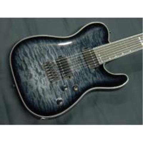 SCHECTER-7弦ギターAD-PT-7-HR-HB Trance Black Burst