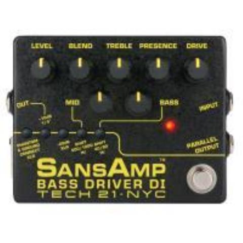 TECH21SansAmp BASS DRIVER DI ver.2