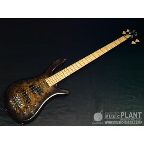 "Warwick Custom Shop-エレキベースStreamer LX4st""Hand-Selected Olive Ash Burl Top,AAA Colourd Flame Maple Back & Birdseye Maple F.B.""(2015 Factory Order Model)"
